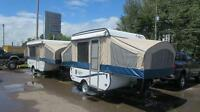 BELOW COST, MUST GO,COACHMEN TENT TRAILER/POP UP TRAILER