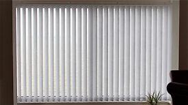 Vertical blinds - White, brand new