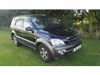 2004 KIA SORRENTO 4x4 DIESEL LONG MOT FULL HISTORY FULL LEATHER