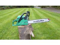 GardenLine 14inch Chain Saw, Hardly Used.