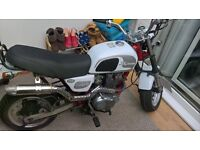 QUICK SALE cobra skyteam well looked after motorbike ready togo with 12months mot