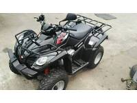 KYMCO MXU 250R ROAD LEGAL QUAD IMMACULATE LOW MILES