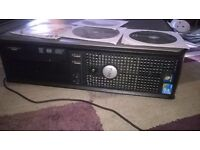 Dell Optiplex 380 Windows 7 Q8200 Core 2 Quad 2.33ghz 6GIG DDR3 512 ATI RAEDON DUAL MONITORS WIFI