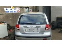 2004 hyundai getz 1.3 petrol breaking for parts only all parts available postage nationwide