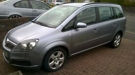 2007 Vauxhall Zafira Club 1.6 petrol Excellent Condition.