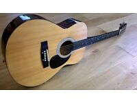 Elevation Electro-Acoustic Guitar W-100N-A Full Size