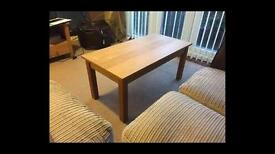 Oak Coffee Table, Cost £199 New