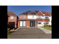 Recently built 8 bedrooms, 5 bathroom and 4 reception rooms house