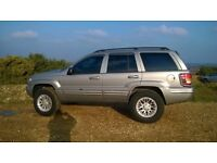 "4X4 JEEP GRAND CHEROKEE ,,,,, "" BIG OFF ROAD TYRES "" ,,, 2 OWNERS CLEAN CAR"