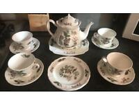 Mandarin Wedgwood Barlaston tea set