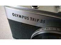 olympus trip 35 ' 35 mm film camera