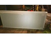 single white 160cm radiator, ready to collect