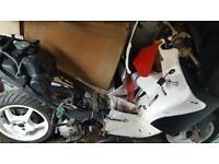 Yamaha aerox breaking