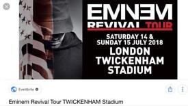2x eminem tickets