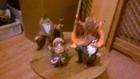 Elanti fantasy figurines 6no Characters-Quest of stones