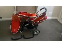 icandy peach , push chair with accessories * Broken handle