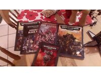 Job lot of Warhammer space marines and equipment