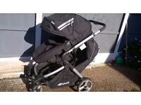 NICE HAUCK DUETT DOUBLE PUSHCHAIR