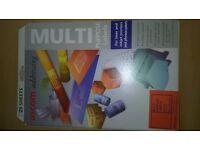 Labels, multi purpose 64mm x 38.1mm, 4 colours
