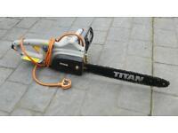 Titan 240v Chainsaw