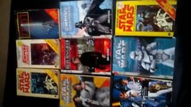 star wars books x9 8x vg condition, little crease on empire