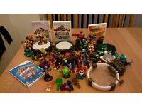 wii skylanders swap force, giants, superchargers & team.Games, potals, figures and traps.