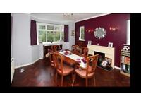 Dining table with 6 chairs extendable