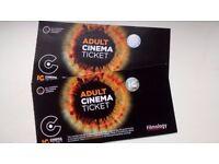 2 Cinema Tickets