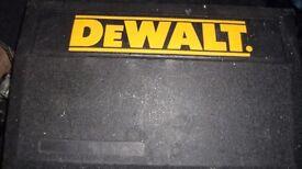dewalt cordless drill and circular saw 14.4 v