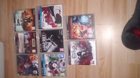 Playstation 3 with 23 Games