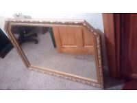 Large mantelpiece mirror