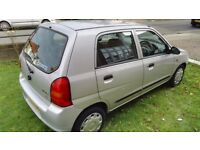 Suzuki Alto Silver Cheap Car 4 Door 1.1 Litre Silver 2004 Good Condition