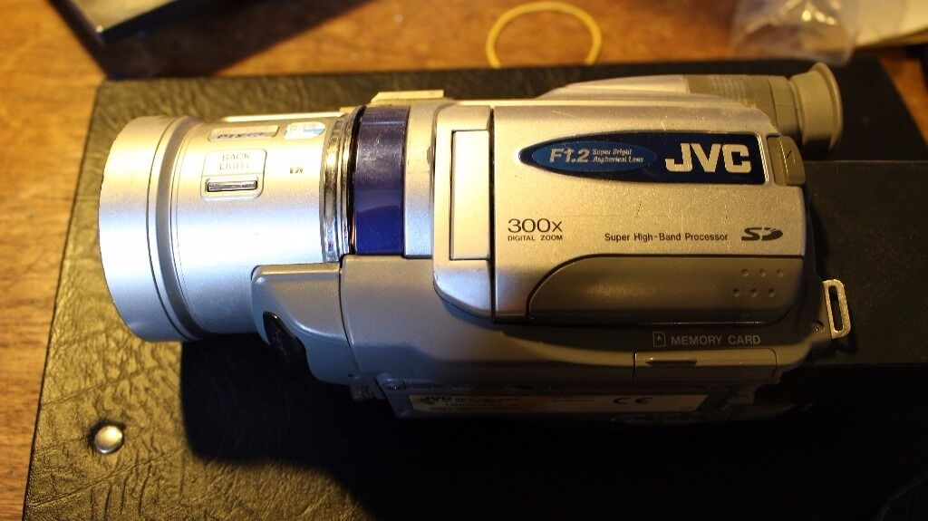 JVC Mini DV Camcorder dv700EK Working but possibly for parts - £30