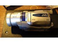 JVC Mini DV Camcorder dv700EK Working but possibly for parts - £30
