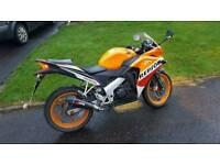 Honda cbr125r quick sale