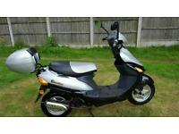 50cc moped runs and rides needs mot. See notes. Can deliver if needed