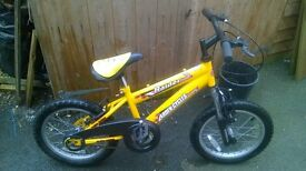 kids bike hardly used excellent condition £ 20