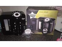 Basically New: Tommee Tippee Prep machine, Bottle Warmer, Steriliser & Bottles