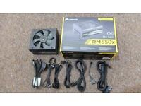 Corsair RM550X Fully Modular Power Suppy 80 Plus Gold Rated