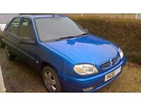 Saxo Desire 5 Dr, One family owned from New! (mother and daughter) Extensive service history.