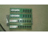 6gb of ddr 2 800mhz ram memory