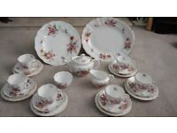 Crown Derby Posie Pattern Tea Set