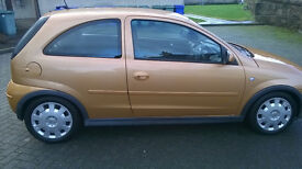 Vauxhall corsa in stunning condition very low miles 2 keys service history