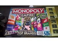 MONOPOLY EMPIRE (IMMACULATE CONDITION)