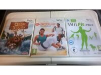 Wii fit bored and games