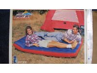 Inflatable Camping Mattress - Double size - two available
