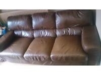 leather sofa perfect condition