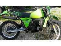kawasaki kdx 250 early 80s