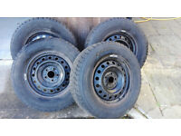 4 Wheels and Tyres from Mitsubishi Outlander 2010 GX4
