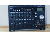As new Tascam 8 track digital recorder - 32gb card & stand thrown in